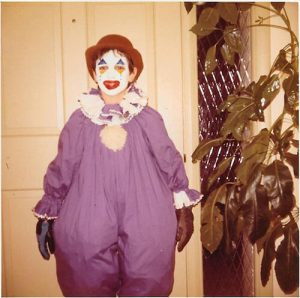 Just clowning around.